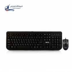 TSCO TKM 8054N Wired Keyboard and Mouse