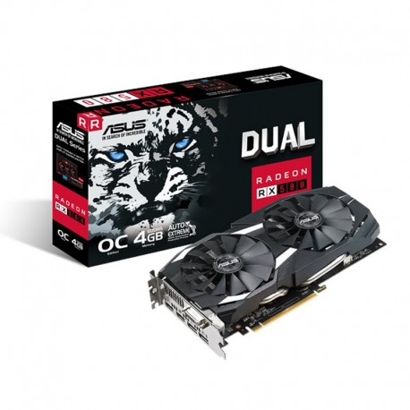 ASUS DUAL-RX580-O4G Graphics Card